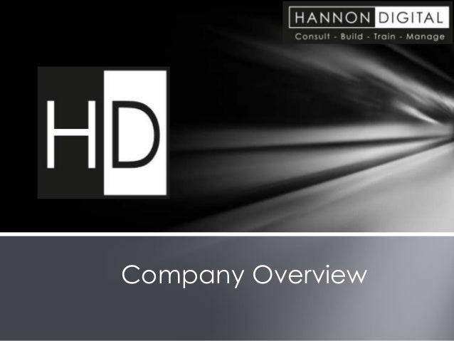 Hannon Digital Company Overview