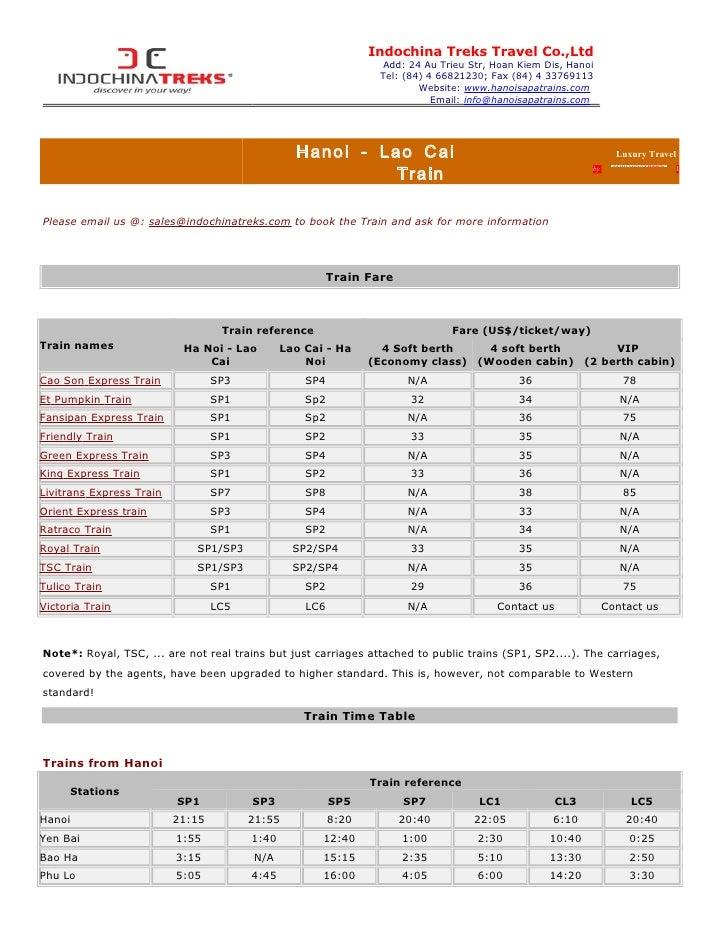 Indochina Treks Travel Co.,Ltd                                                                 Add: 24 Au Trieu Str, Hoan ...