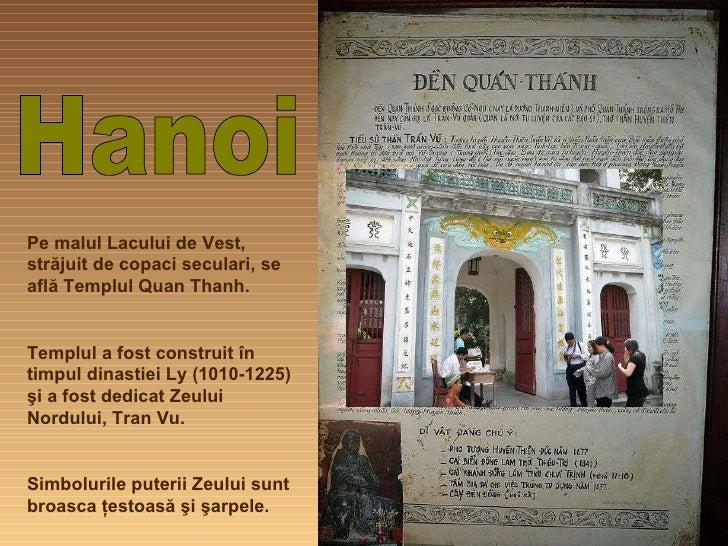 Hanoi, Templul Quan Thanh