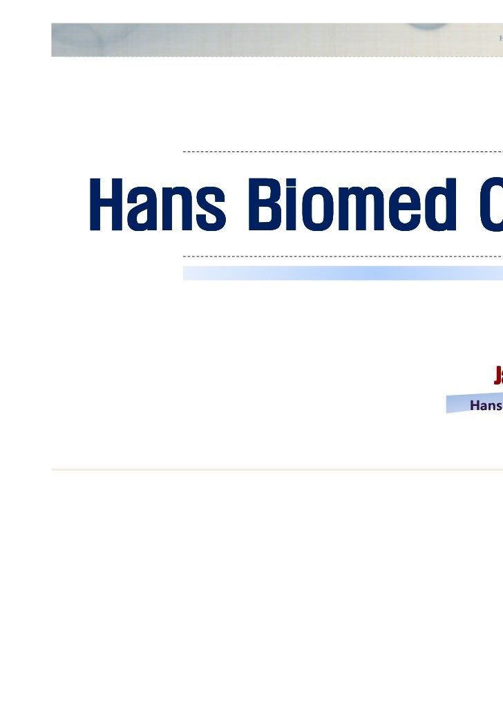 Hans Biomed  Spine & Orthopedic
