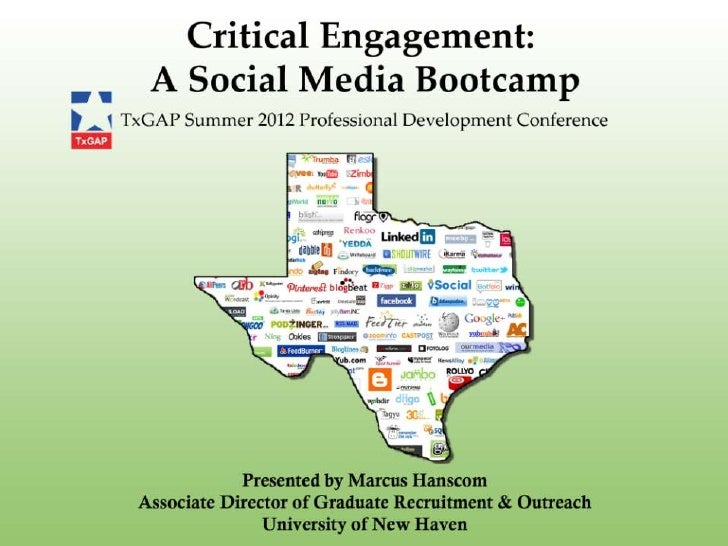 Critical Engagement: A Social Media Bootcamp