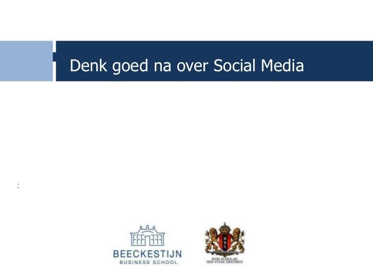 Hans Molenaar social media strategie dml12