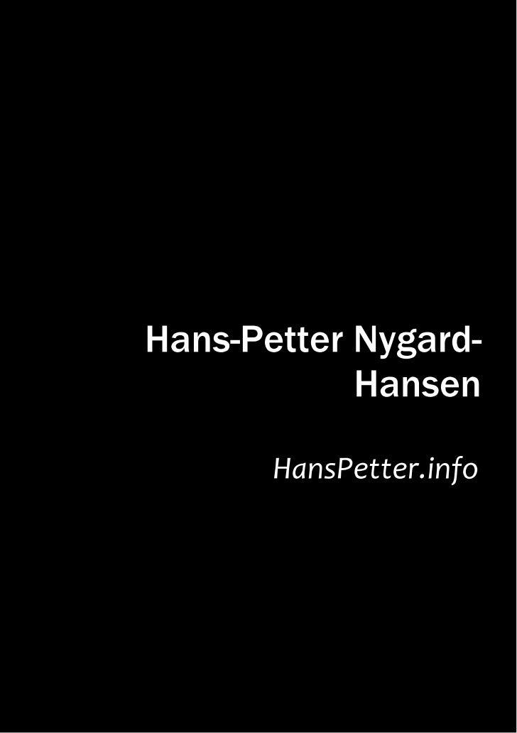 HansPetter.infoHans-Petter Nygard-Hansen       manufactured by