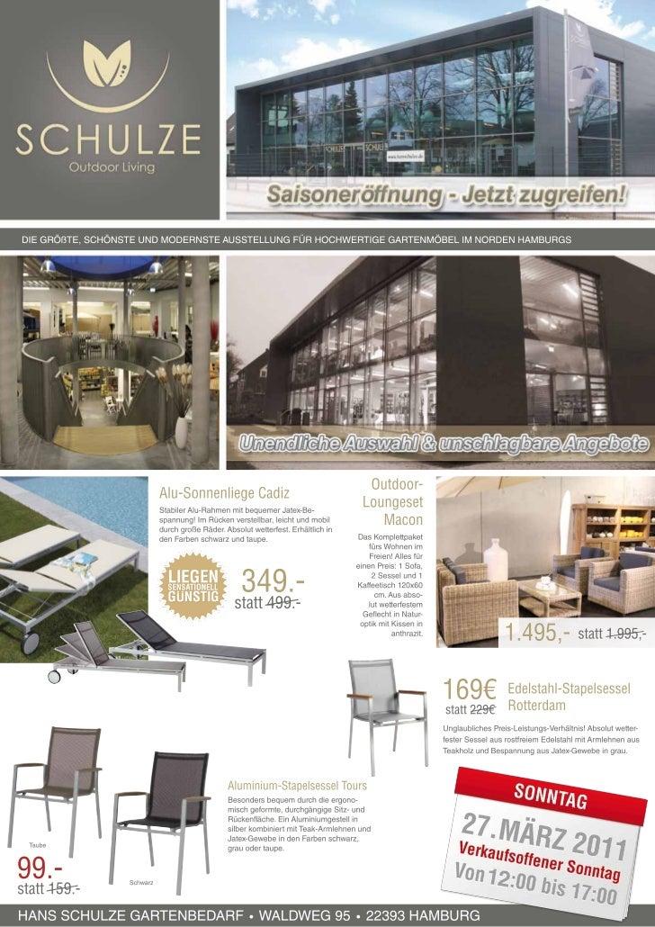 Hansschulze Werbung März 2011