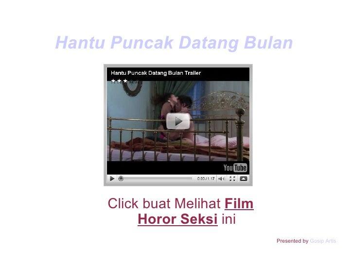 Hantu Puncak Datang Bulan Click buat Melihat  Film Horor Seksi  ini Presented by  Gosip Artis