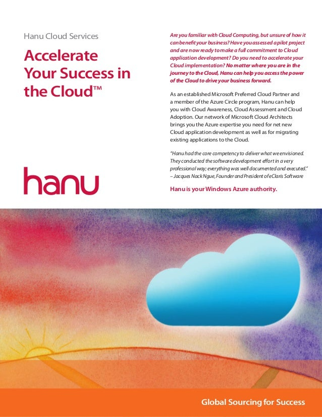 Hanu cloud services
