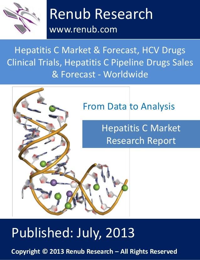 Hepatitis C Market & Forecast, HCV Drugs Clinical Trials, Hepatitis C Pipeline Drugs Sales & Forecast - Worldwide Renub Re...