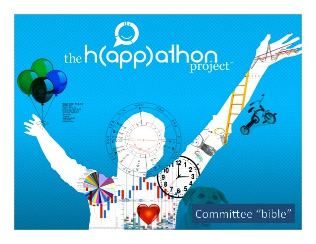 H(app)athon project Committee bible (guidelines)