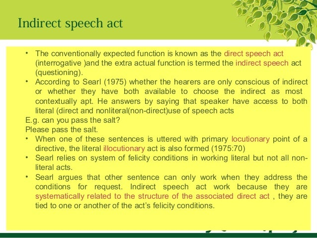 essays on speech act theory