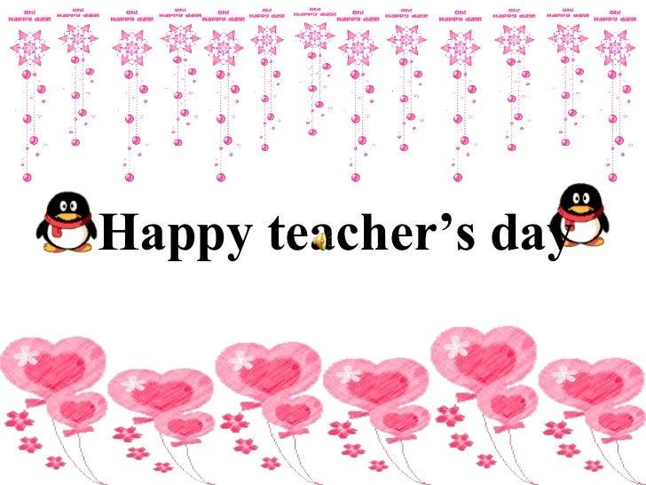 Happy teacher's day   HappyTeacher' sDay    ...