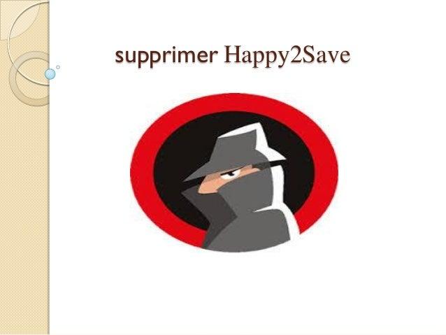 supprimer Happy2Save