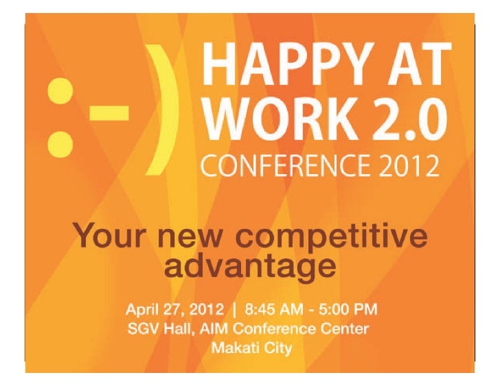 Happy at work 2 dr aggie sarthou maximizing or overworking_april 27, 2012