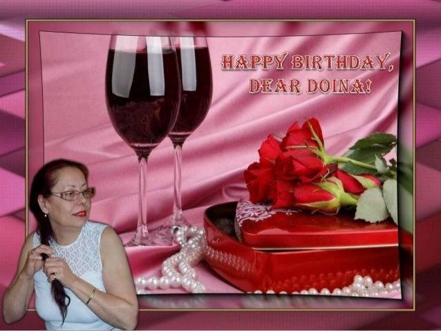 Happy Birthday, Doina!