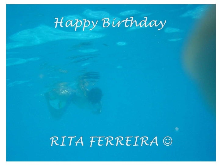 Happy Birthday RITA FERREIRA