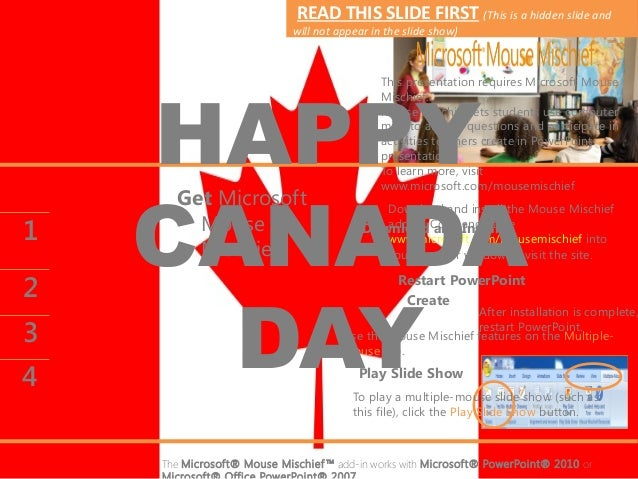 Happy canada day july 01 2013