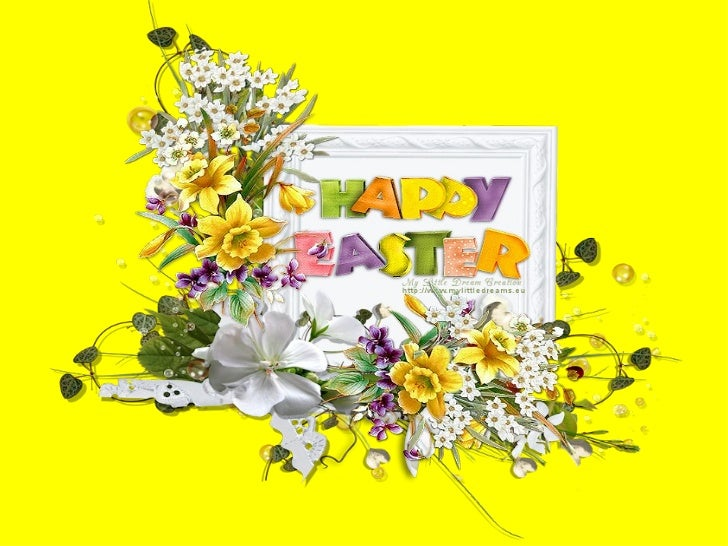Happy easter 2012.