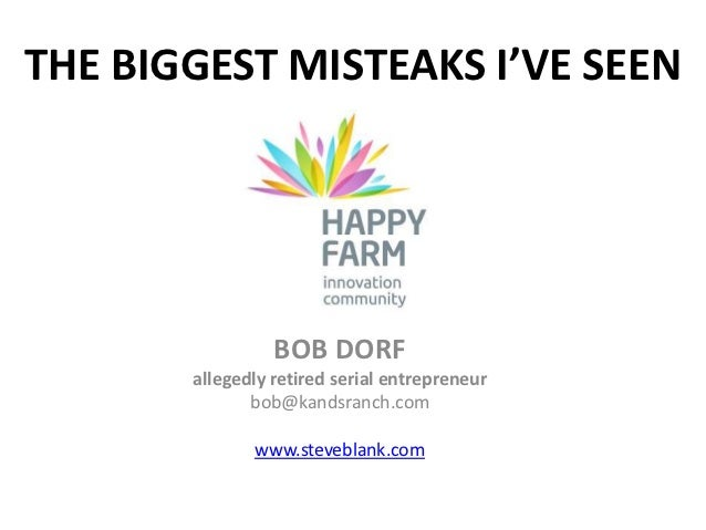 Happy farm manifesto and misteaks bd