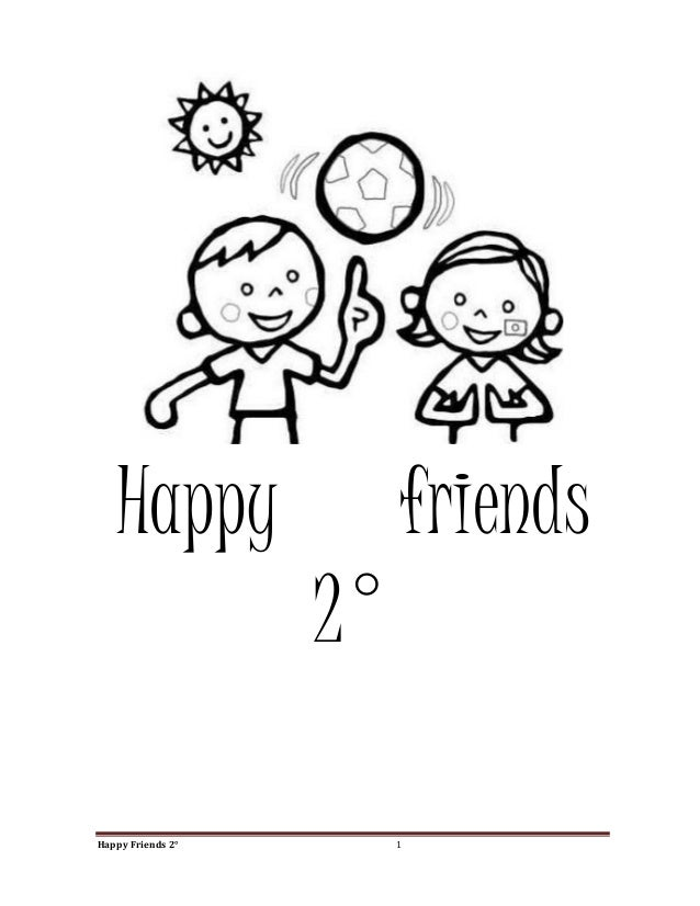 Happy  friends  2° pdf