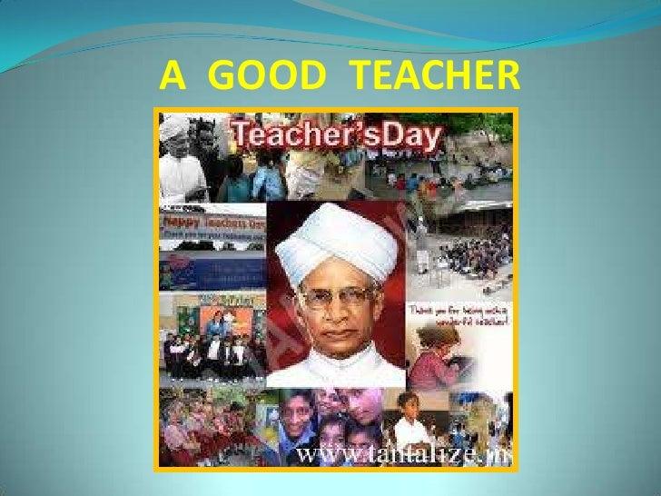 A  GOOD  TEACHER<br />