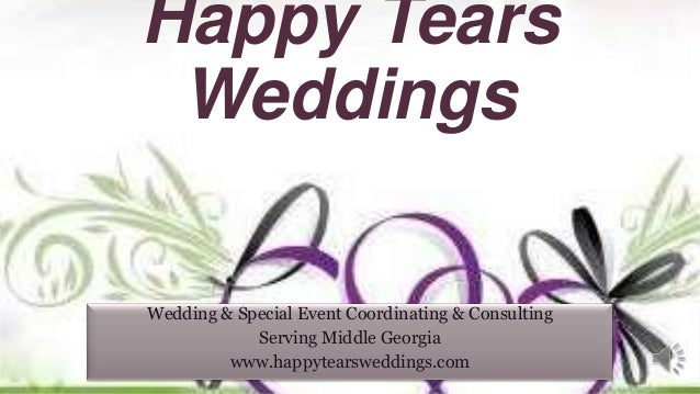 Happy tears weddings