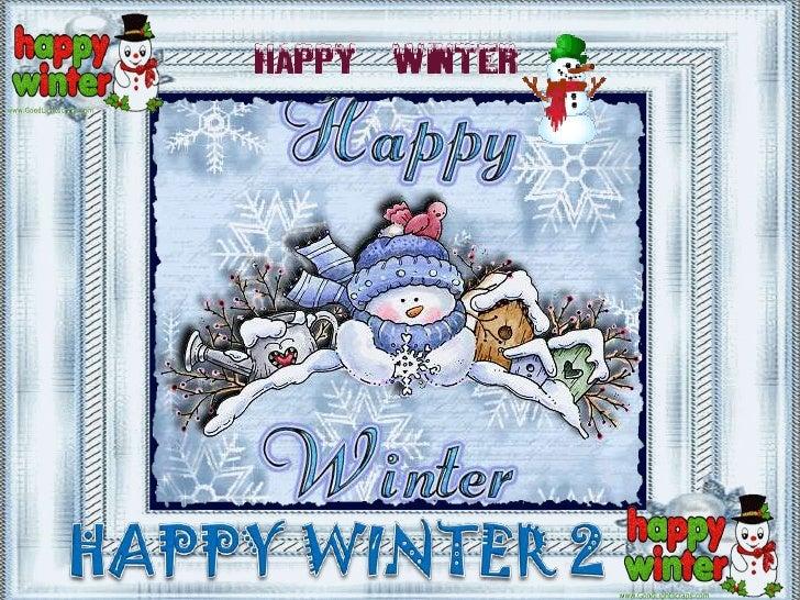 HAPPY WINTER 2<br />