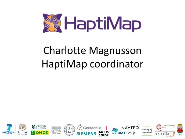 Haptimap in a_nutshell_2011_for_aegis