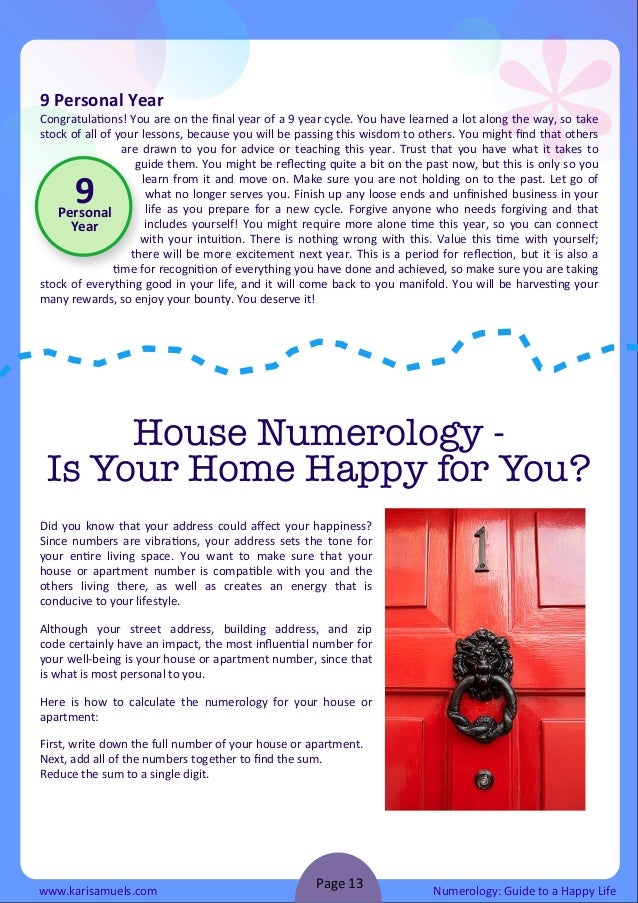 I'm writing an 8 page essay about numerology..?