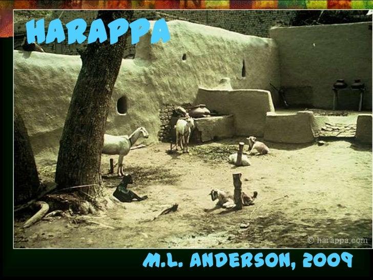 Harappa     M.L. Anderson, 2009