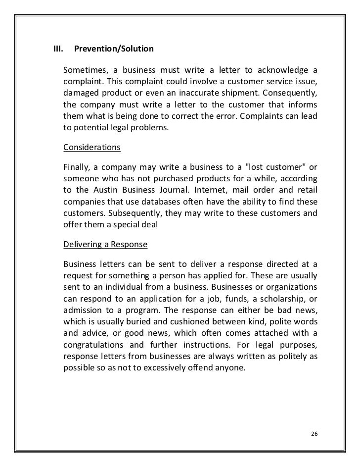 how to write a complaint letter about customer service