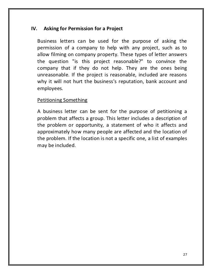 Formal letter to ask for permission militaryalicious formal altavistaventures Gallery
