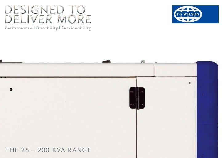 The 26 – 200 kVA RAnge