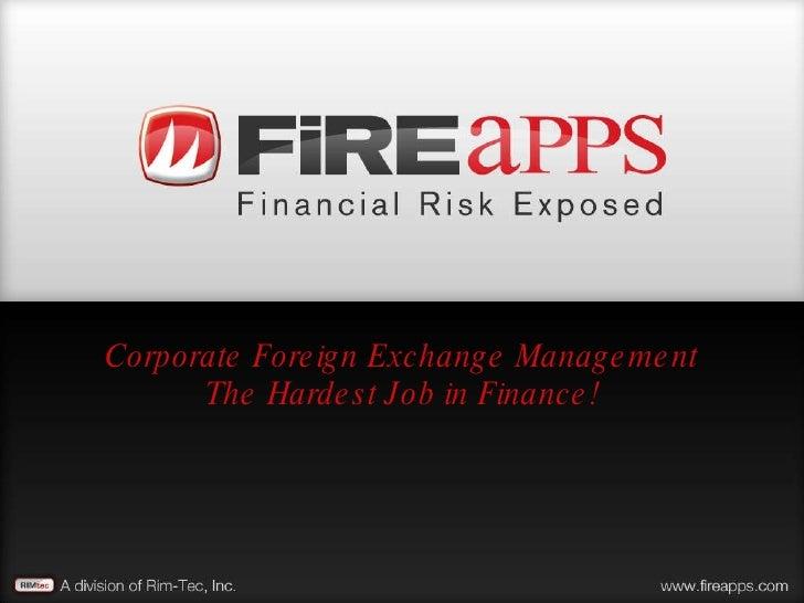 Hardest Job In Finance V1