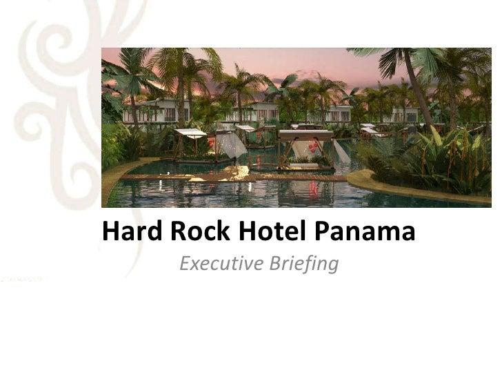 Hard Rock Hotel Panama 2009!!! Contact Daniel Merandi
