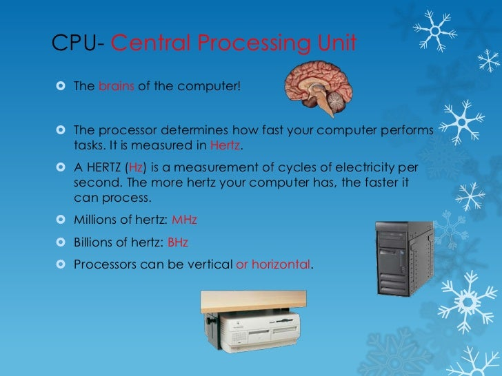 Cpu Unit of Measurement Cpu Central Processing Unit