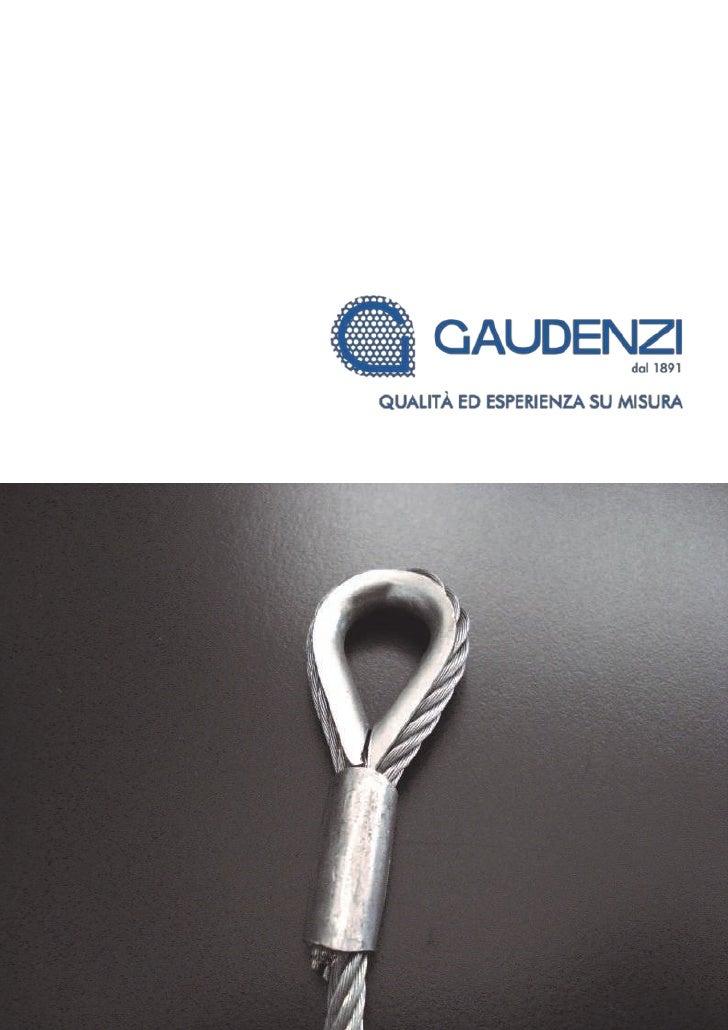 GAUDENZI, QUALITÀ ED ESPERIENZA DAL 1981                                          GAUDENZI                                ...