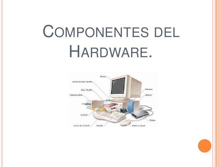 hardware componentes