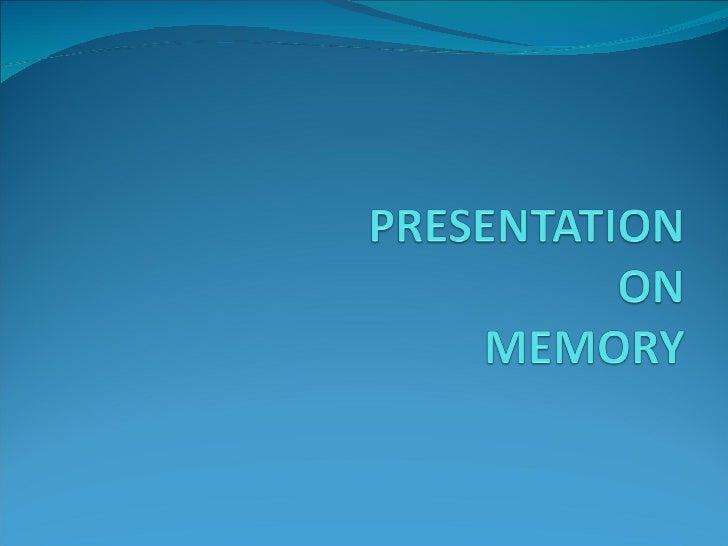 Hardware Memory