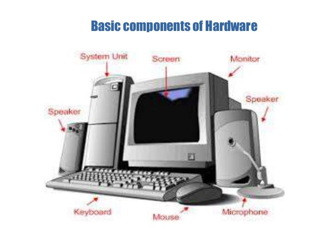 how the computer hardware and software Any digital computer carries out five functions in gross terms: computer  components any kind of computers consists of hardware and software.