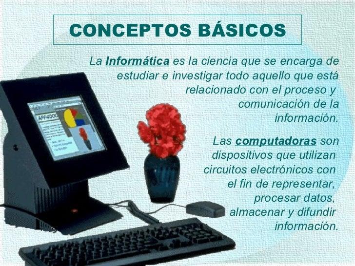 Las  computadoras  son dispositivos que utilizan  circuitos electrónicos con  el fin de representar,  procesar datos,  alm...