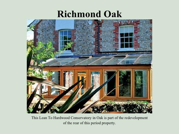 Hardwood Conservatory In Oak