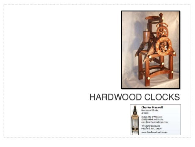 Hardwood Clocks Photo Album