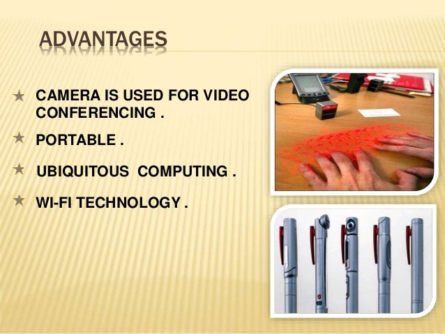 Disadvantages of pc pen?