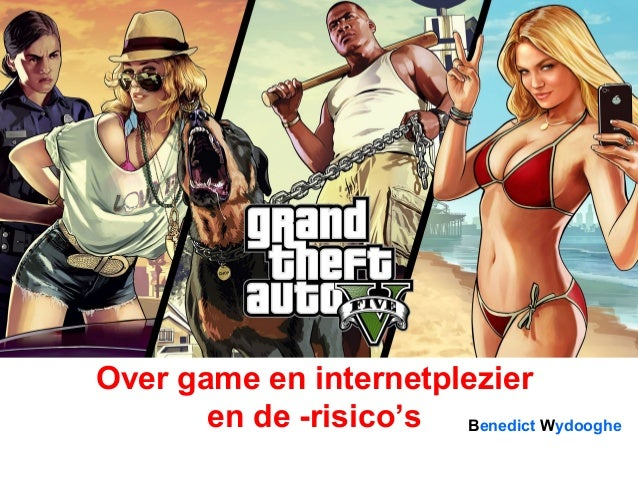Benedict Wydooghe Over game en internetplezier en de -risico's