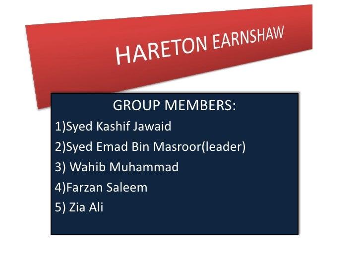 GROUP MEMBERS:1)Syed Kashif Jawaid2)Syed Emad Bin Masroor(leader)3) Wahib Muhammad4)Farzan Saleem5) Zia Ali