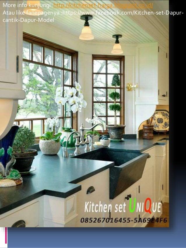 Harga kitchen set dapur mungil harga kitchen set berapa for Biaya kitchen set per meter