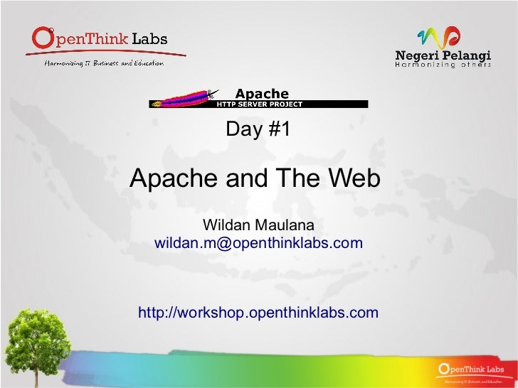 Apache2 BootCamp : Apache and The Web (1.1)