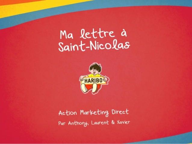 Haribo plannification direct marketing