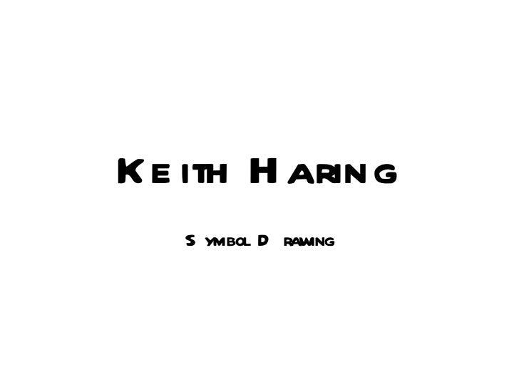 Haring.symbol drawing activity