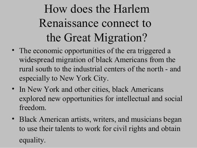 harlem renaissance the influence and impact The phenomenon known as the harlem renaissance represented the flowering in literature and art of the new negro movement of the 1920s, epitomized in the new negro (1925), an anthology edited by alain locke that featured the early work of some of the .