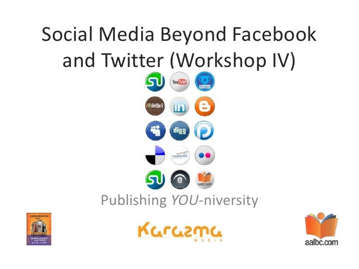 Harlem Book Fair - Social Media Beyond Facebook and Twitter - Workshop IV